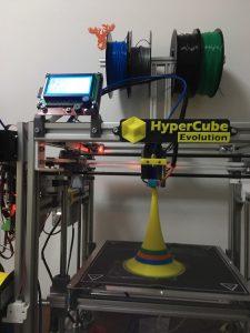 COREXY架构3D打印机打印成品图片